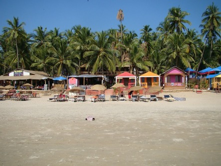 Beach shacks Goa